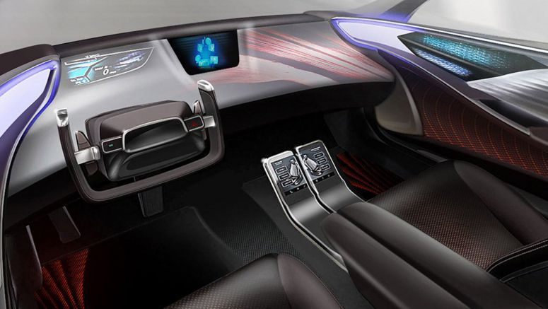 Toyota Gives Their Take On Interiors For Autonomous Vehicles