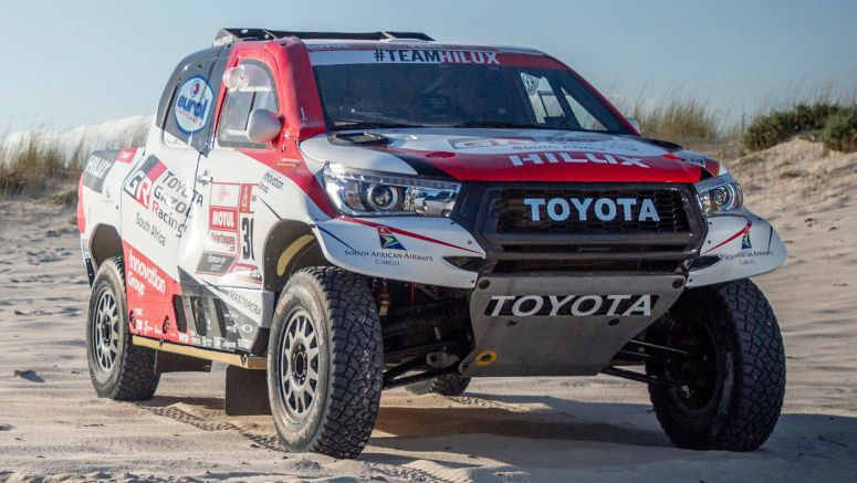 Toyota Enters 2019 Dakar With Three Bespoke Hilux Pickup Trucks