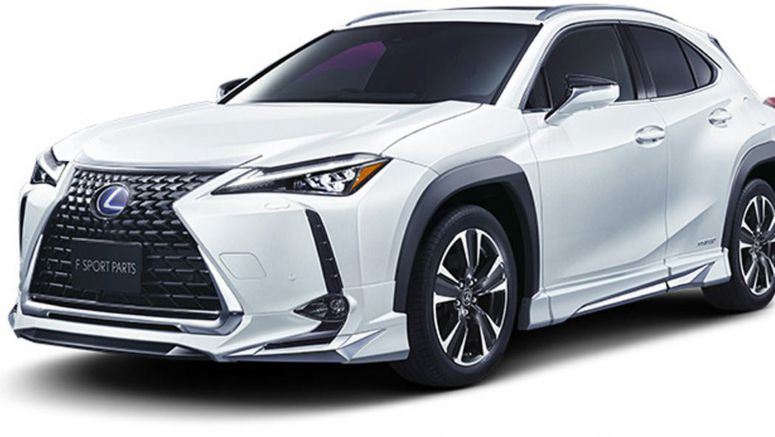 Is The New Lexus UX Too Plain For You? Here's Modellista's JDM Take