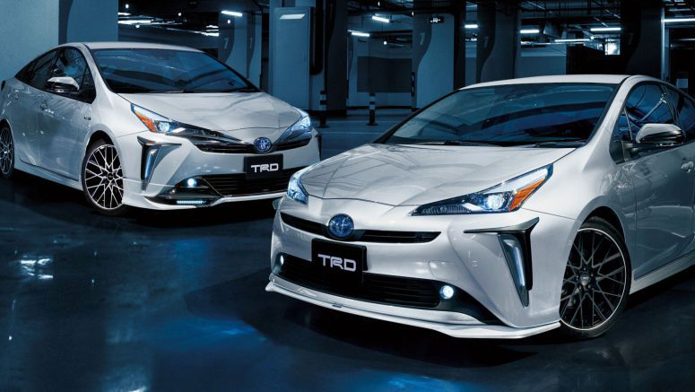 TRD Gives Facelifted Toyota Prius Some Visual Clout