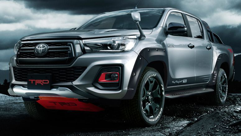 Toyota's New Hilux Black Rally Edition Is TRD Overload