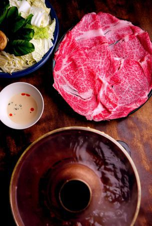 Tottori beef hotpot dish said to be origin of 'shabu-shabu'