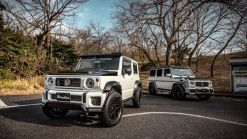 Here's Liberty Walk's Suzuki Jimny Mini G-Class Next To The Original Mercedes-Benz