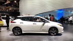 2019 Nissan Leaf e+ loses range in upper trim levels