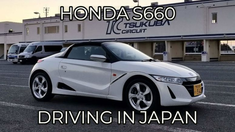 Honda S660: Cruising Tokyo With 63HP Is More Fun Than It Sounds