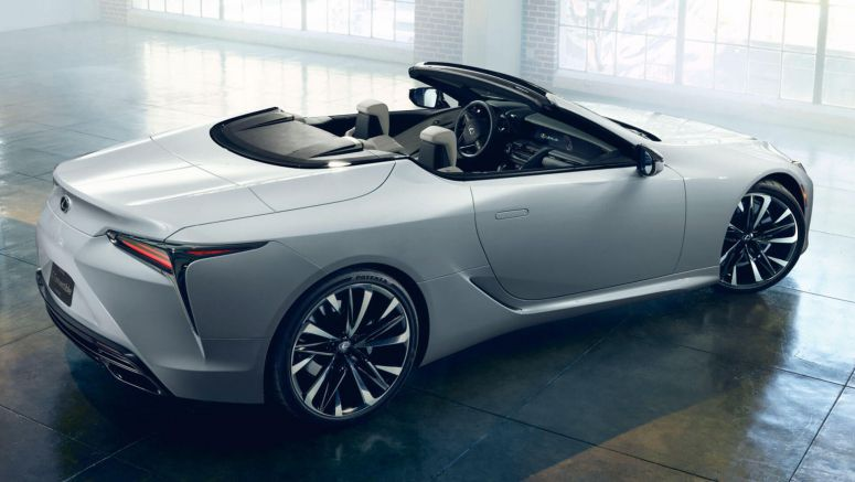 Lexus LC Convertible Concept Is Obviously Ready To Enter Production