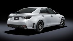 Toyota Mark X GRMN Returns With RWD, 313 HP And Carbon Fiber Roof