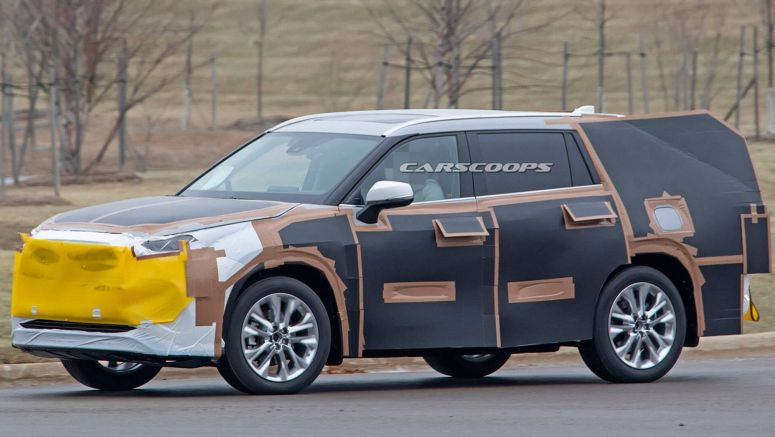 2020 Toyota Highlander Is Coming For Ford's All-New Explorer