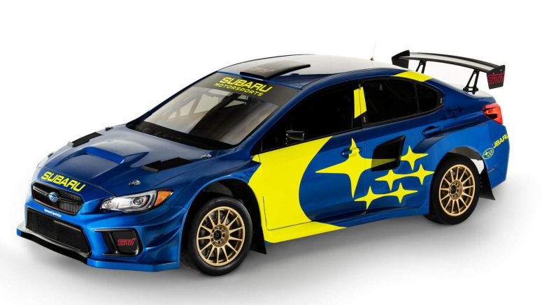 Subaru Returns To Its Signature Blue And Gold For 2019 Racing Livery