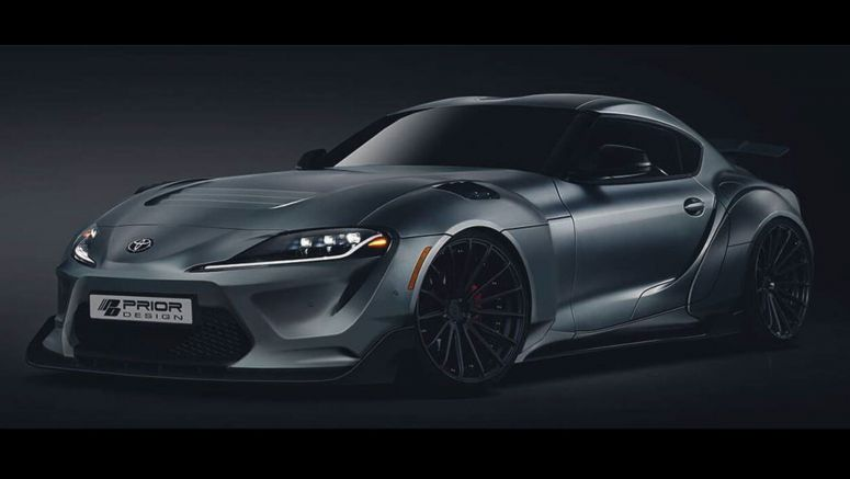 2020 Toyota Supra Gets Its First Tuning Job, Well… Sort Of