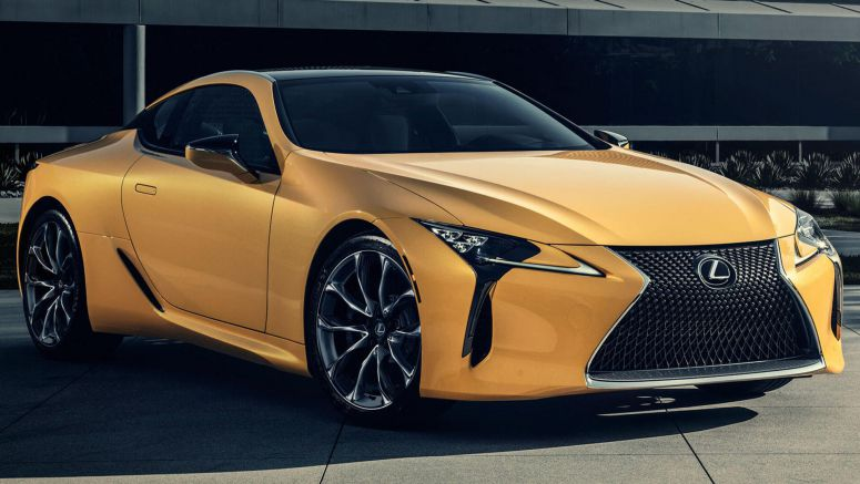 Lexus LC 500 Inspiration Series Starts From $106,210, Exclusive Leather Bag Included