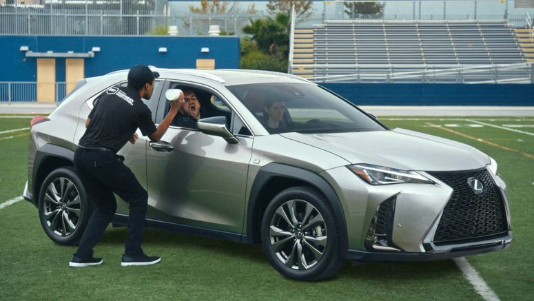 Lexus Sits Out This Year's Super Bowl, But Still Makes A Football Spot