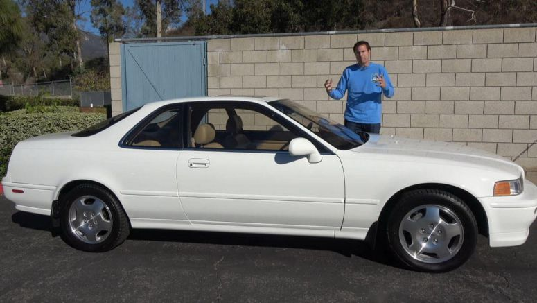 1994 Acura Legend Coupe Has Tech You Won't Find On A New RLX