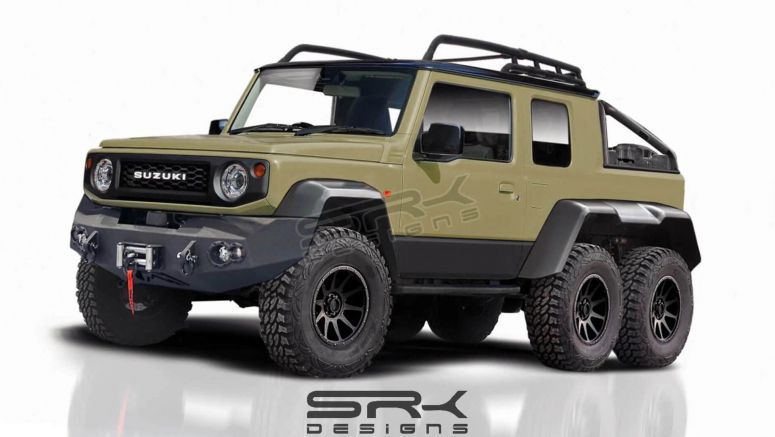 2019 Suzuki Jimny Doesn't Want To Miss Out On The 6×6 Party
