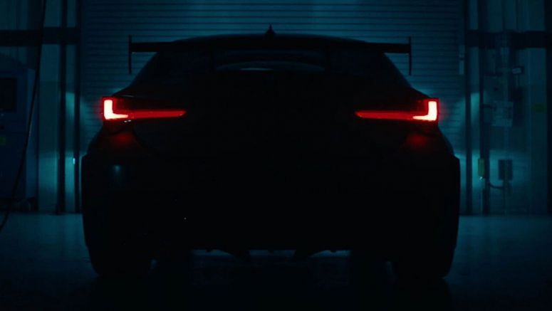 Lexus RC F Track Edition Teased On Film, V8 Sounds As Brutal As Expected