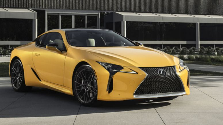 Lexus puts that vivid yellow LC500 concept into limited production