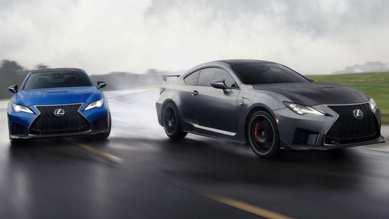 2020 Lexus RC F Revealed Alongside Limited Run Track Edition