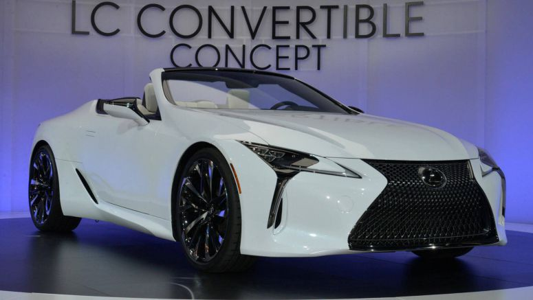 Lexus' LC Convertible Concept Is A Sign Of Things To Come