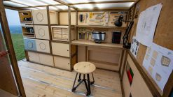 Nissan NV300 Van Transformed Into A Mobile Workshop Concept