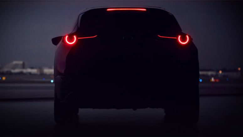 Mazda teases a new compact SUV for Geneva