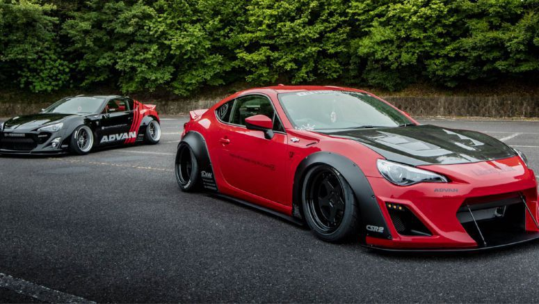 Liberty Walk's Toyota 86 And Subaru BRZ  Are Ready For Tokyo Drift