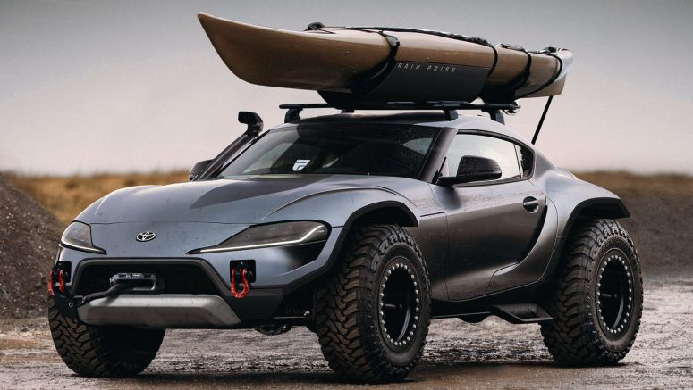 Lifted Toyota Supra Could Be The Ultimate Off-Roader