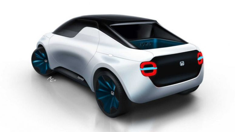 Honda's mini electric ute concept would make a great daily companion