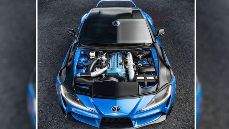 2020 Toyota Supra getting a CX Racing 2JZ engine swap kit