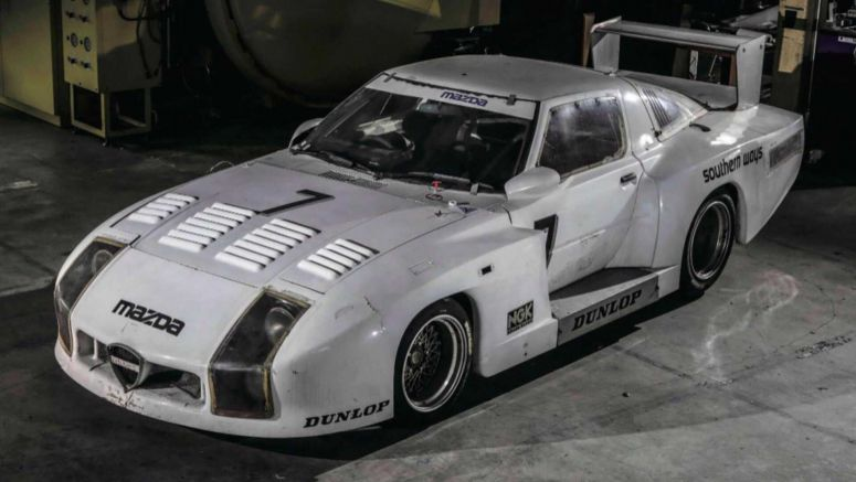 Unique Mazda 254i Le Mans Racer Found In Japan After 35 Years