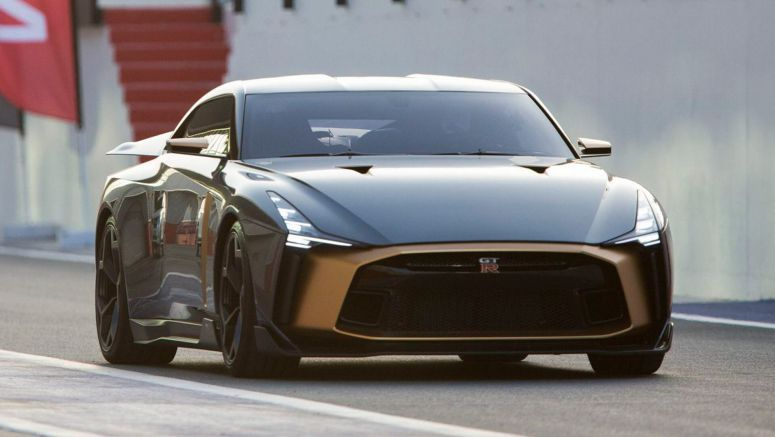 Nissan GT-R50 By Italdesign Shown Off To Middle East Customers