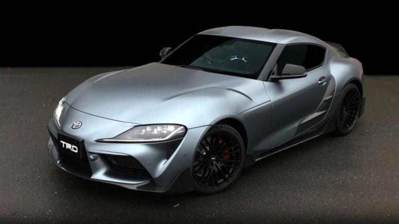 Toyota Supra gets modified for the first time by TRD