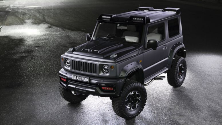 Suzuki Jimny Black Bison is real, looks ready to stomp on other off-roaders