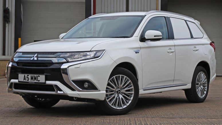 Mitsubishi Commercial Outlander Goes Green With PHEV Version
