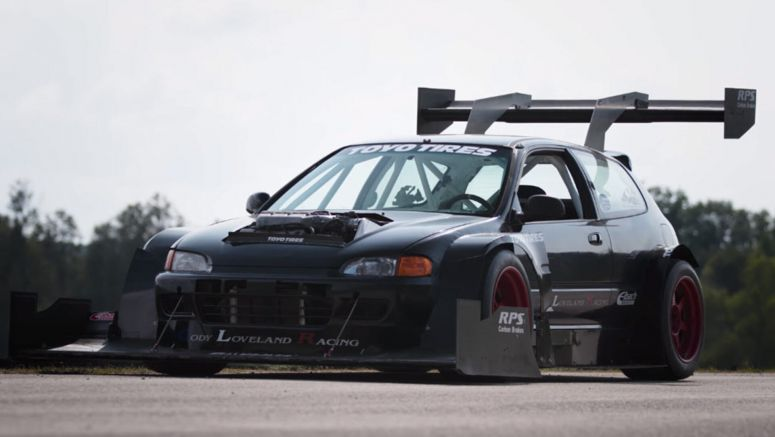 This Honda Civic Hillclimber Would Love To Go To Pikes Peak