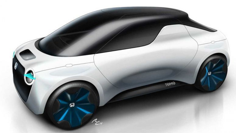 Honda Tomo Concept: An Electric Transformer That Changes From Coupe To Pickup