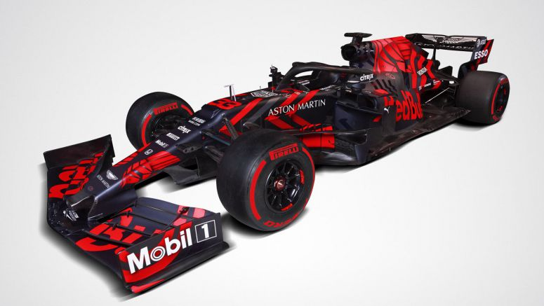Red Bull Racing Unveils Honda-Powered 2019 RB15 F1 Car With One-Off Livery