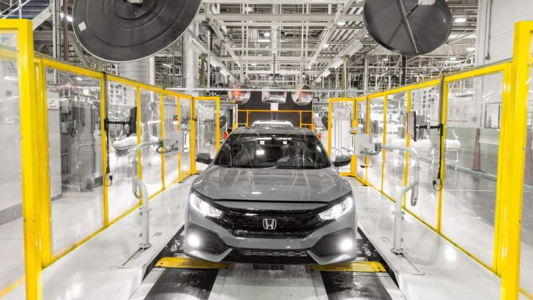 Honda Could Build The Next Genaration Civic Hatchback In The U.S.