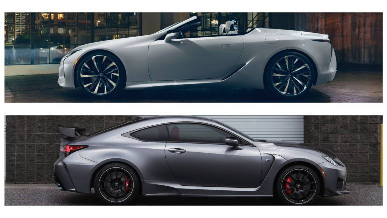 Lexus LC Convertible Concept And RC F Track Edition To Bow In Geneva Too