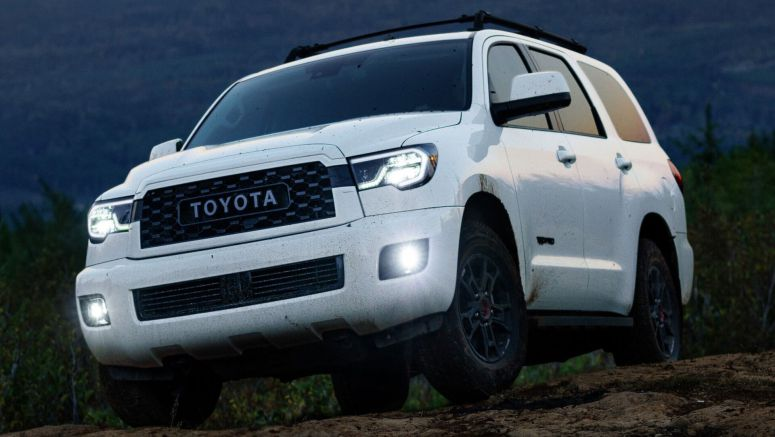 2020 Toyota Sequoia TRD Pro Is Ready To Conquer Arduous Terrains