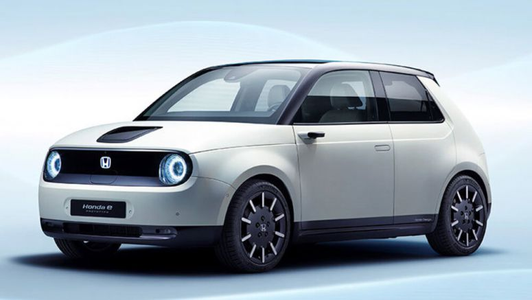 Honda E Prototype carries most of the Urban EV concept to production