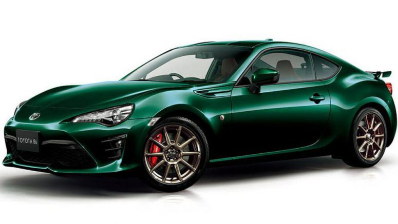 British Green Toyota 86 Limited Edition Looks Striking, Too Bad It's Only For Japan