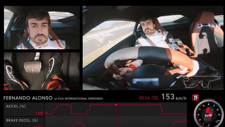 Fernando Alonso Samples New Toyota Supra, Walks Away Impressed