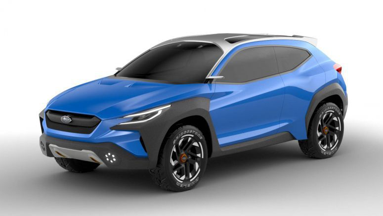 Subaru's Viziv Adrenaline Concept Surely Looks Bold And Youthful