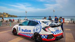 Honda Civic Type R Joins Aussie Police Force But Won't Be Chasing Bad Guys