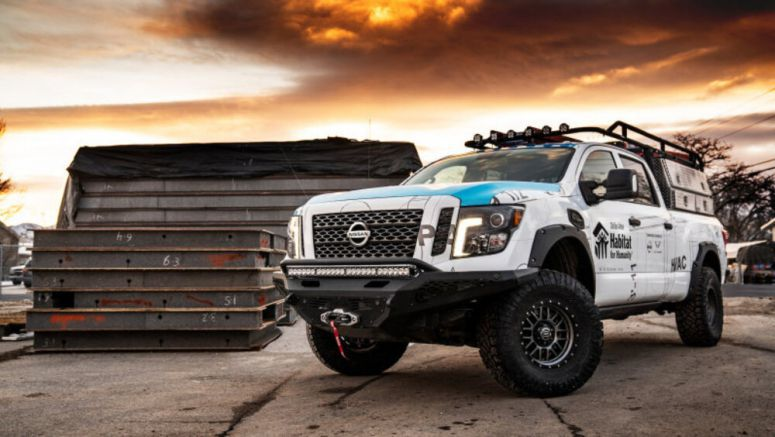 Nissan and Habitat for Humanity kit out a Titan for building stuff