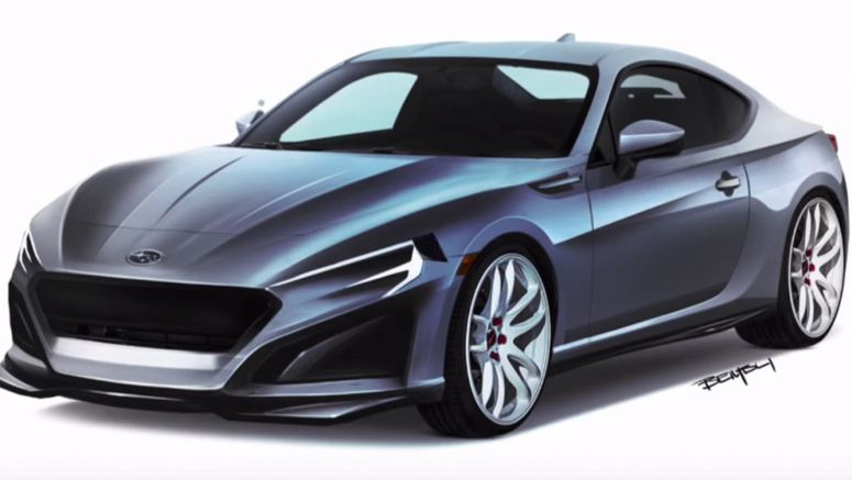 Here's An Evolutionary Approach To Subaru's Second-Gen BRZ