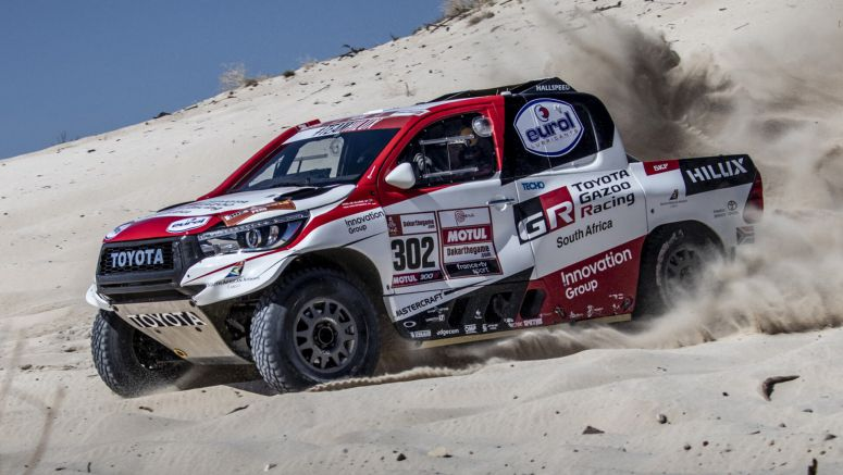 Fernando Alonso To Get Behind The Wheel Of A Dakar-Spec Toyota Hilux