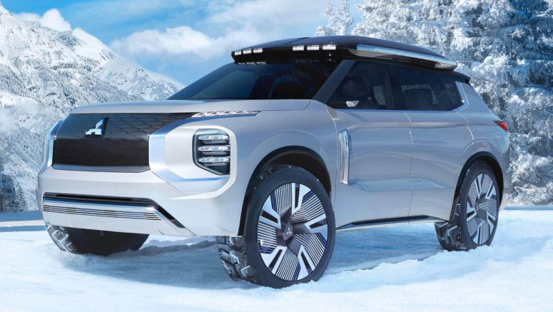 Mitsubishi Engelberg Concept Looks Like An Outlander From The Future