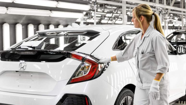 Honda Will Keep Building The Civic In North America Despite European Factory Closures