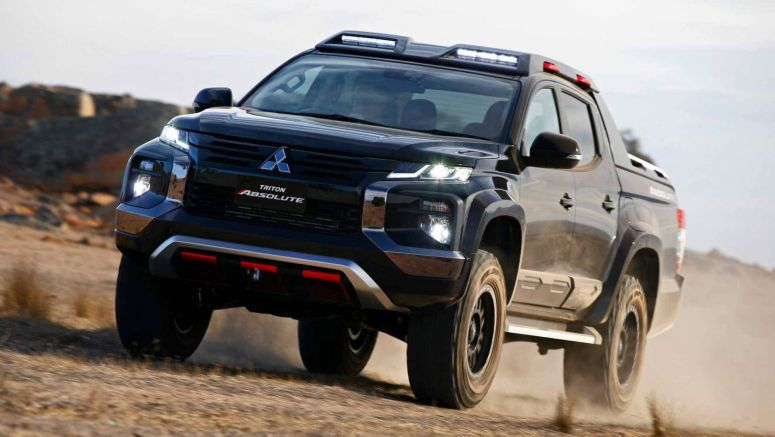 Mitsubishi Triton Absolute Concept Could Preview Off-Road Performance Pickup